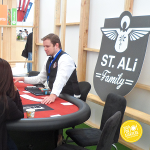 Gambling at St Ali Family - Melbourne International Coffee Expo - MICE 2015