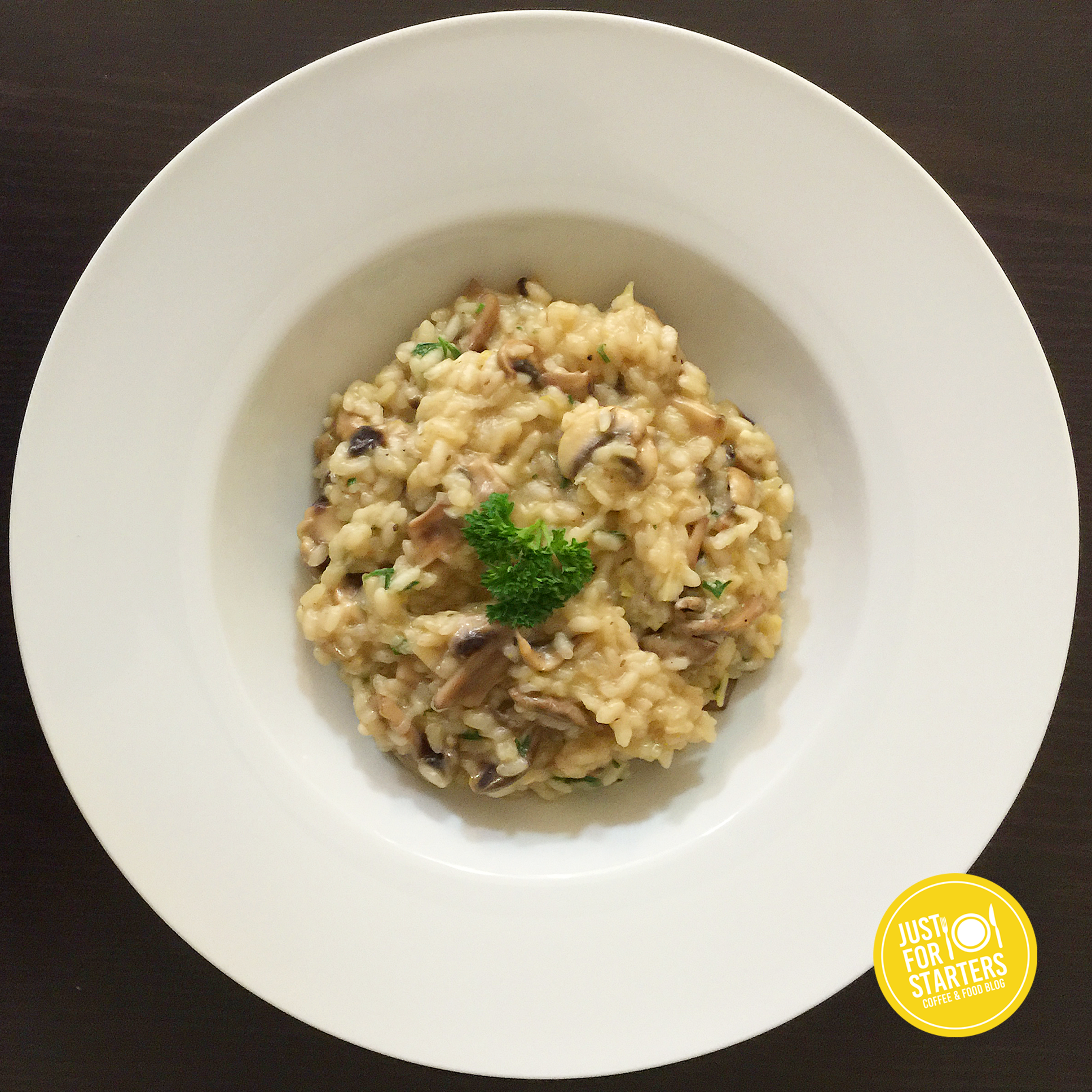 Mushroom And Leek Risotto Recipe — Dishmaps