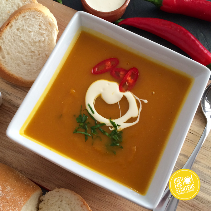 Spicy Curried Pumpkin Soup