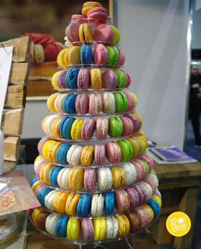 Macaroon Tower  - Good Food & Wine Show Perth 2015